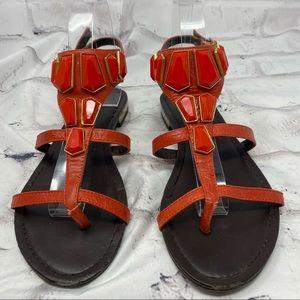 Fergie Energy Embellished Gladiator Style Sandals
